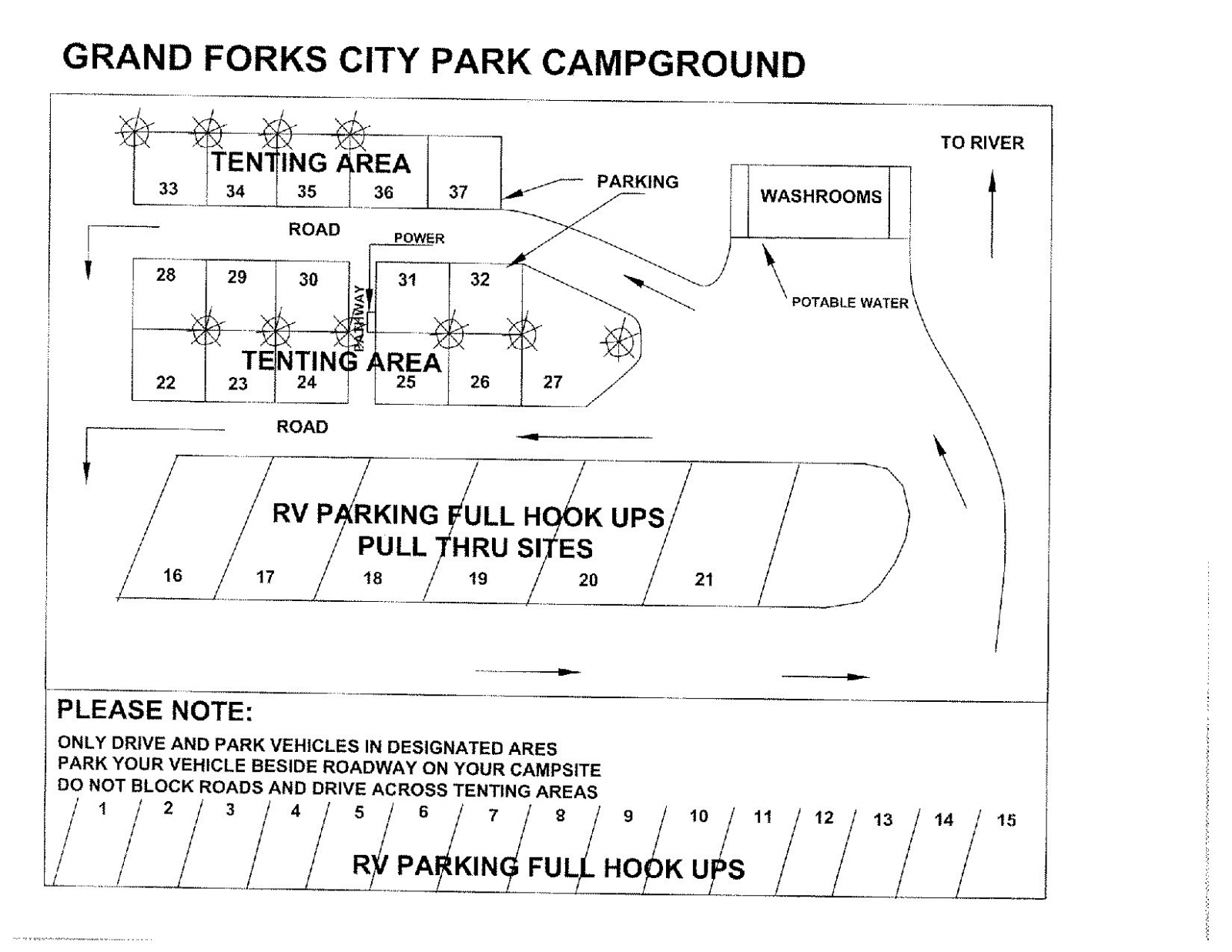 Campground - City of Grand Forks on map of north georgia campgrounds, map of north dakota casinos, map of north dakota airports,
